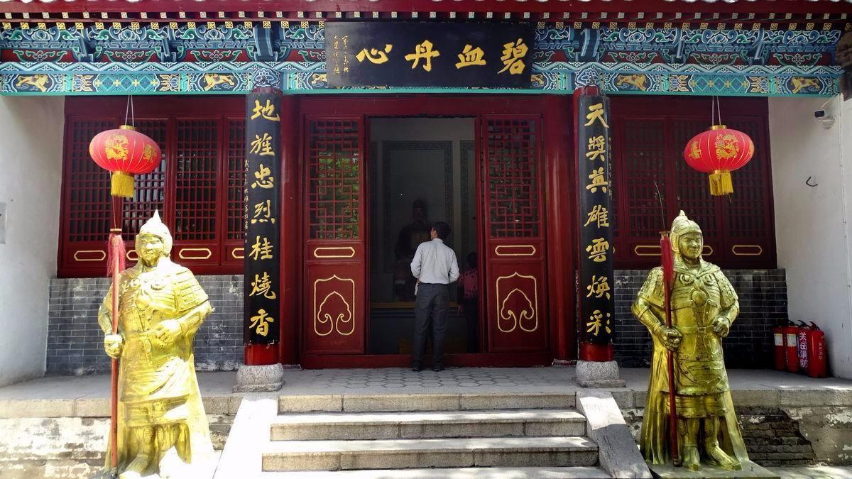 杭州岳庙岳飞塑像_中国有三大岳飞庙,分别是河南汤阴、朱仙镇、浙江抗州_ 岳飞网